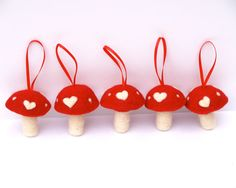 A Needle Felted Valentine's Day - The Magic Onions