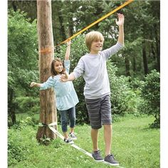 Training Slackline. Pin to win! Enter for your chance to win a $250 gift card at http://sweeps.piqora.com/magiccabinsummerimaginationsweepstakes Sweepstakes ends 5/20/14.