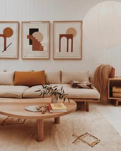 A mix of mid century modern, bohemian and industrial interior styles 00018 ~ Home Decoration Inspiration Rooms Home Decor, Home Living Room, Living Room Designs, Living Room Decor, Earthy Living Room, Living Room Paint, Cozy Living, Simple Living, Apartment Living