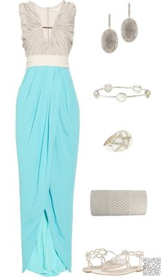 13. #Flaunt Your Curves - Get the Max out of Your #Spring with These Maxi #Skirts + Dresses ... → #Fashion #Dress