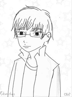 Create 2d character, sketch self pict ( C&S_artPro)