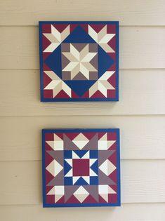 B Pierce Barn Quilt Designs, Barn Quilt Patterns, Quilting Designs, Star Quilts, Quilt Blocks, Painted Barn Quilts, Barn Signs, Wooden Barn, Barn Art