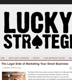 Lucky 13 Strategies located at San Diego CA in San Diego,CA offers Marketing.