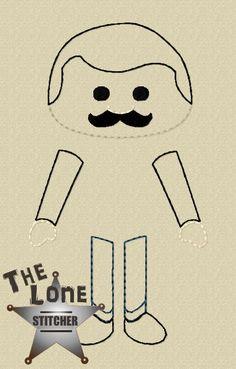 Gomez Set Over Sized: The Lone Stitcher