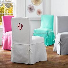 Slipcover Desk Chair