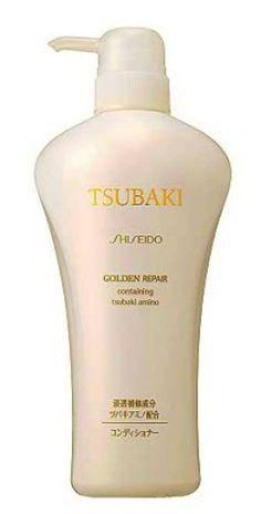 Shiseido Tsubaki Golden Repair/Damage Care Hair Conditioner Pump - 550ml by Tsubaki, http://www.amazon.com/dp/B000X25L40/ref=cm_sw_r_pi_dp_QlfFqb1Q7BD1Q