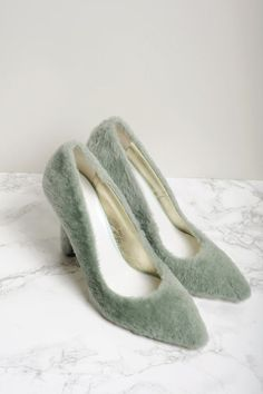 What Cinderella's fur slippers would have looked like had Perrault not happened...