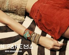 Bracelets brésiliens daim hipanema