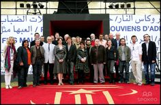 Christopher Lee, John Hurt, Myriam D'Abo, Charles Dance, Brian Cox, Benedict Cumberbatch and Guests The 8th International Marrakech Film Festival - British delegation photocall