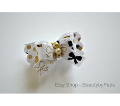 Party Pop 5/8 Dog Bow by BeautybyParis on Etsy
