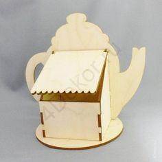 Чайная коробочка чайник Ф4, 19х22х15 см Оригинальная чайная коробочка. В ней есть всё: и удобный просторный кармашек с крышкой, и огромное поле для декорирования. Продаётся в разобранном виде.