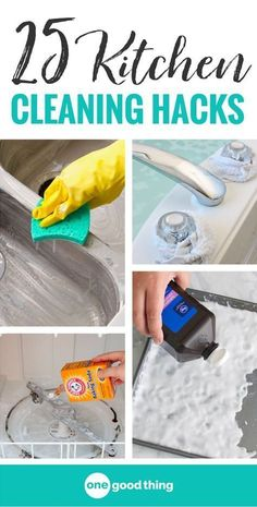 21 of the best kitchen cleaning hacks. Cleaning advice for deep cleaning your entire kitchen. These awesome cleaning tips and tricks are sure to leave your kitchen sparkling. Deep Cleaning Tips, House Cleaning Tips, Diy Cleaning Products, Cleaning Solutions, Clean House Tips, Spring Cleaning Tips, Spring Cleaning Bathroom, Cleaning Routines, Speed Cleaning