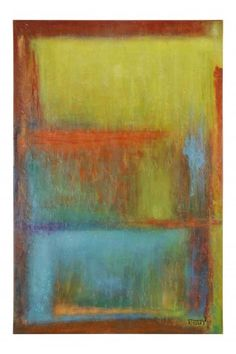 """I.O. Metro Balance. Balance is a product of a local artist, Buddy Whitlock, from Des Arc, Arkansas. Buddy, a self-taught artist, has been painting for twenty years. """"I learned to paint by spending time being creative, mixing colors and responding to client's feedback."""" He finds inspiration in color, interesting shapes and the room or space where art is needed. 48""""w x 72""""d x 2""""d #abstract #art #arkansas #artist #buddy #whitlock"""