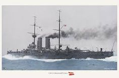 Austro-Hungarian predreadnought battleship SMS Zrínyi running trials in World Of Warships, Austria, Austro Hungarian, Dark Backgrounds, Battleship, Vintage Photographs, Sailing Ships, Monochrome, To Go
