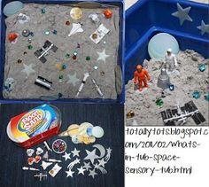 Squish Preschool Ideas: Outer Space Fun!
