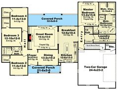 Plan 51109MM: Inviting Country Home Plan