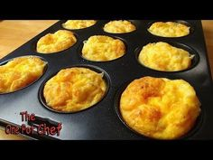 Oven Baked Mini Omelets for Quick and Easy Breakfasts one pot chef What's For Breakfast, Quick And Easy Breakfast, Breakfast Muffins, Breakfast Dishes, Breakfast Recipes, Breakfast Omelette, Christmas Breakfast, Baked Omelette, Omelette Recipe