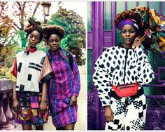 ZION TRIBE by MAËLLE ANDRE By Motel Magazine / June 9, 2014  Photography - MAËLLE ANDRE  Models ALIANE @FLAG MODELS & RACHELLE @JILL Models Agency  Make-Up - NOEL INOCENCIO  Hair - CHRISTOPHE LAMBENNE  Styling - MAAME NSIAH  Asst Styling - LESLY GIESEN