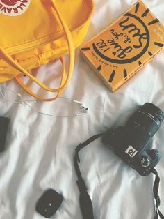 Same classic Kanken design since Stash everyday essentials in the main zippered compartment, front zippered pocket, and two open side pockets. Book Aesthetic, Aesthetic Fashion, Aesthetic Pictures, Aesthetic Yellow, Aesthetic Vintage, Yellow Kanken, Mochila Kanken, Happy Vibes, Happy Colors