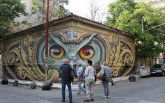 Πώς συνδέεται η σοφία της κουκουβάγιας με μια πόλη σαν την Αθήνα; Ο λόγος στον δημιουργό. Street View
