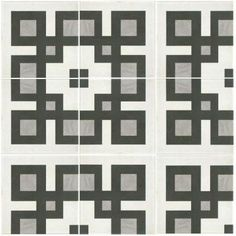 Merola Tile Twenties Corner 7-3/4 in. x 7-3/4 in. Ceramic Floor and Wall Tile-FRC8TWEC at The Home Depot