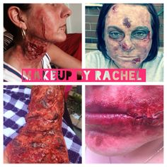Sfx makeup done by me x
