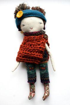 cloth doll rag doll handmade