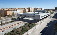 Built by Rafael de La-Hoz in Alcobendas, Spain with date 2015. Images by Alfonso Quiroga . The new building hosts the International School of Photography PhotoEspaña de Alcobendas of Universidad Popular, as w...