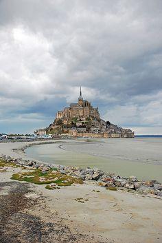 Mont-Saint-Michel-- Normandy, France