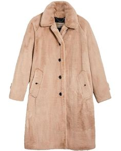 904c0a11fa7d Burberry - Natural Single Breasted Car Coat - Lyst Coats For Women