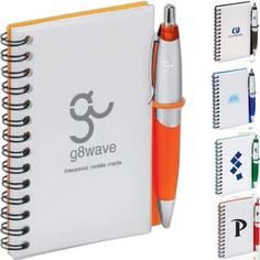 Customized junior journal set makes a great convention giveaway. Functional set includes Scripto® Jr. Journal with 50 unlined pages and matching Scripto® Scratch Mini Click pen. Journal even has a convenient shock cord pen holder so the pen won't get lost! http://www.iceboxcoolstuff.com/prod-19-1-1591-269/scripto-jr%2e-journal-set.htm
