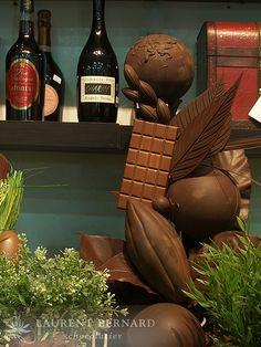 Chocolatiers Show Pieces | ... after work-out...: Laurent Bernard Chocolatier ~ Easter Special 2009