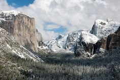 I would love to see Yosemite Valley like this!