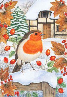 Christmas Songbird Art of Anne Mortimer