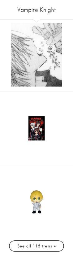 """Vampire Knight"" by supernaturalblackcat ❤ liked on Polyvore featuring anime, manga, backgrounds, pictures, vampire knight, books, plushies, art, VampireKnight and yuukicross"