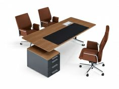 Executive Seatings and Chairs Executive Office Furniture, Leather Swivel Chair, Office Decor, Decor Ideas, Interior, Table, Home Decor, Decoration Home, Room Decor
