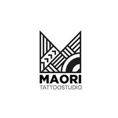 "Logo Inspiration Gallery on Instagram: ""Maori Tattoo Studio - Design by @mikreativo . Do you like this logo design? Your valuable feedback inspire others. . ❤️ Double tap and like…"" Tattoo Studio, Studio Logo, Studio Design, Maori Designs, Tattoo Designs, Vector Vector, Typography, Lettering, Inspire Others"