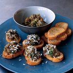 Eggplant Bruschette