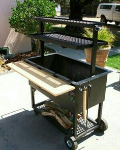Santa Maria style grill(one of our 5 BBQ's) keeping it real in the front yard YO. - Grill - You are in the right place about grilling fer Here we offer you the