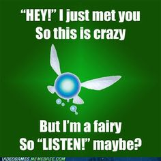 OMG everyone listen to the fairy and nobody gets hurt! XD lol