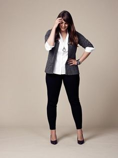 >> Love this Good outfit for work, no excessive heels, perhaps flats...