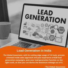 The Global Associates, with its cutting edge usage of 2.0 tools, process oriented inside sales approach and past experience of B2B lead generation campaigns, puts your lead generation function on the right track, so that you can derive the maximum mileage out of it. #leadgenerationservices #b2bleadgeneration #b2bsales #leadgenerationcompanies