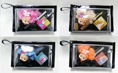 Eye Shadow & Mascara Set with Doll key hanging