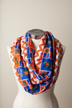Florida Gators Infinity Scarf on Etsy, $24.00