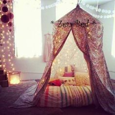 Oh I so want one of these in my altar room!!! what a fab meditation tent! Owl and Moon Crafters on facebook
