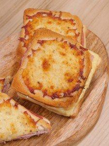 croque-monsieur : Recette de croque-monsieur - Marmiton Cas, Creme Fraiche, Wrap Sandwiches, Tex Mex, Food Porn, Brunch, Pizza, Cheese, Breakfast