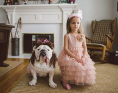 This 4-Year-Old And Her Bulldog Best Friend Are Truly Heartwarming