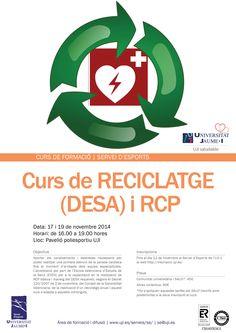 Curs de Reciclatge (DESA) i RCP, 17-19.novembre.2014