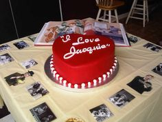 I Love Lucy themed cake.