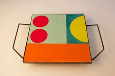 My ceramic and copper tray. More at flavia@flaviadelpra.com.br
